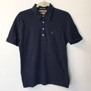 Volcom Navy Short Sleeve Polo - M